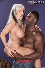 Sally takes on Jax Black's bigger than average cock