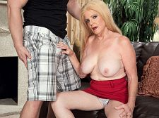 Young rod and a creampie